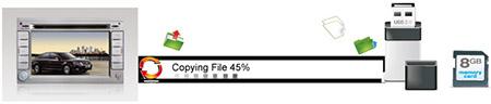 Копирование файлов в магнитоле RoadNav
