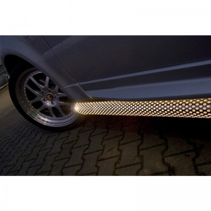 Подножки с подсветкой Range Rover