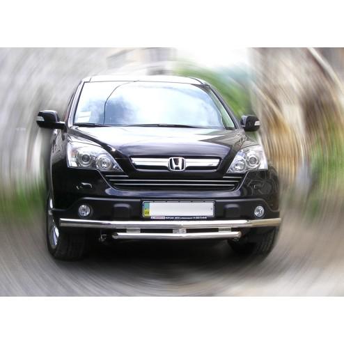 Защита переднего бампера CRV
