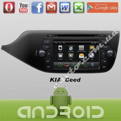 Android Kia Ceed 2013
