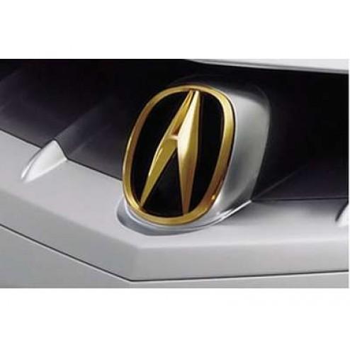 Эмблема золотая Acura MDX