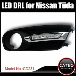 Дневные ходовые огни Nissan Tiida