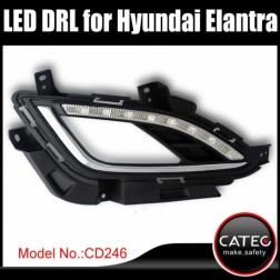 Дневные ходовые огни Hyundai Elantra