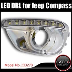 Дневные ходовые огни Jeep Compass