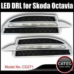 Дневные ходовые огни Skoda Octavia