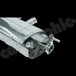 Выхлопная система с клапанами VW Touareg 7P Cargraphic для бензиновых двигателей
