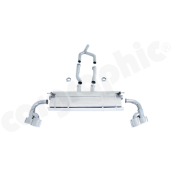Выхлопная система Porsche Cayenne 958 Diesel Cargraphic
