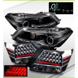 Комплект тюнинговых фар на Honda Accord 4dr 08-10
