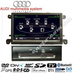 Штатная магнитола Audi A6
