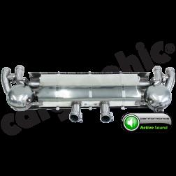 Выхлопная система Porsche Cayenne 958 Diesel Cargraphic Active Sound System