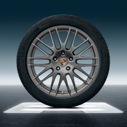 """Диски Porsche RS Spyder Design 20"""" Platinum"""
