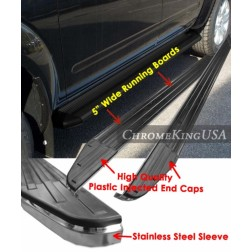 Подножки черные Lexus RX330/RX350