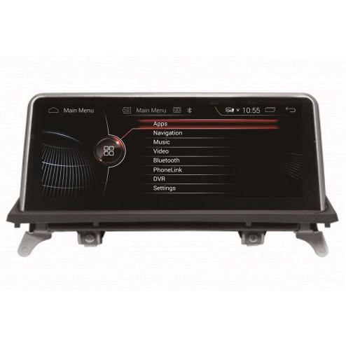 Штатная магнитола BMW X5 E70