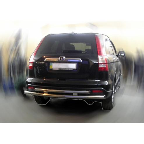 Защита заднего бампера CRV