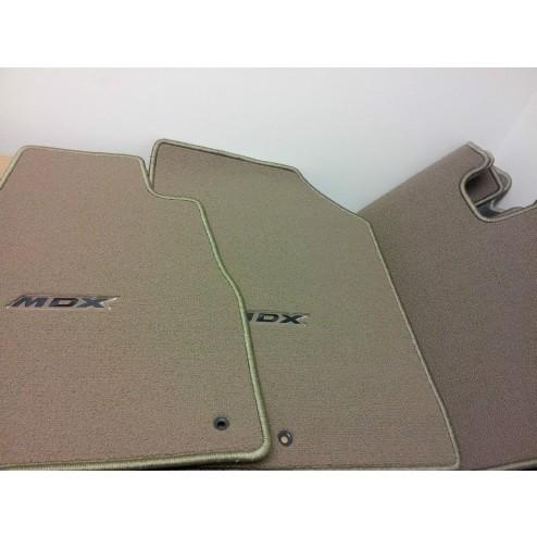 коврики MDX светло-серые велюр