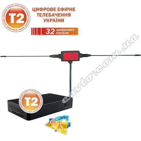 DVB-T2 Активная ТВ-антенна