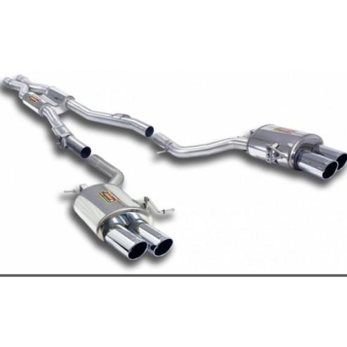 Выхлопная система BMW F10 535i Supersprint
