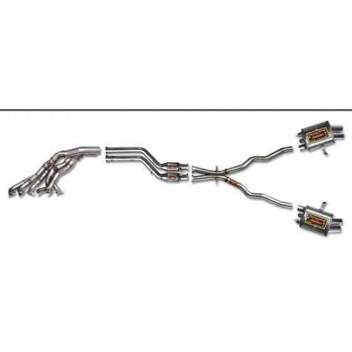 Выхлопная система BMW Z4M E85/86 Supersprint