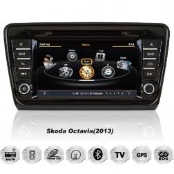 Штатная магнитола Skoda Octavia A7