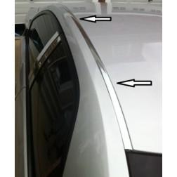 Хромированные молдинги водостоков Lexus RX350