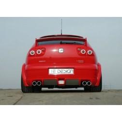 Задний бампер Leon 1M GT-Race RDX