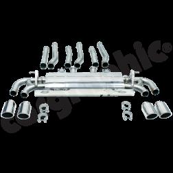 Выхлопная система Porsche Cayenne 958 V6 Cargraphic Super Sound