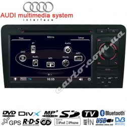 Штатная магнитола Audi A3