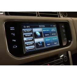 Android интерфейс Range Rover