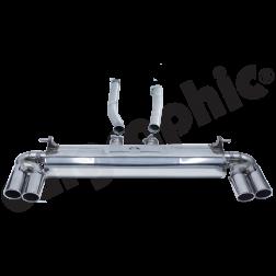 Выхлопная система VW Touareg 7P Cargraphic для бензиновых двигателей