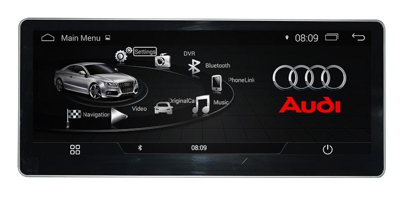 штатная магнитола Audi