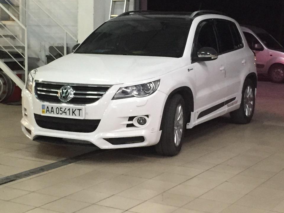 VW Tiguan Caractere