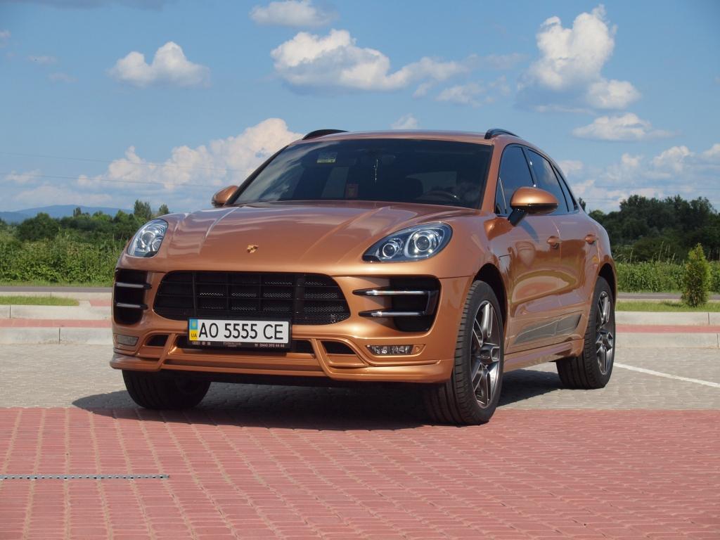 Porsche Macan Techart